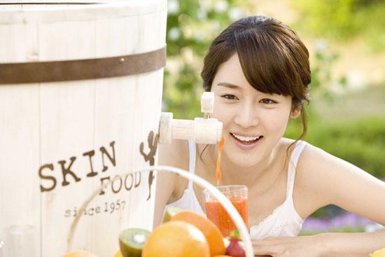 ซอง ยู ริ พรีเซ็นเตอร์ ขาย skinfood